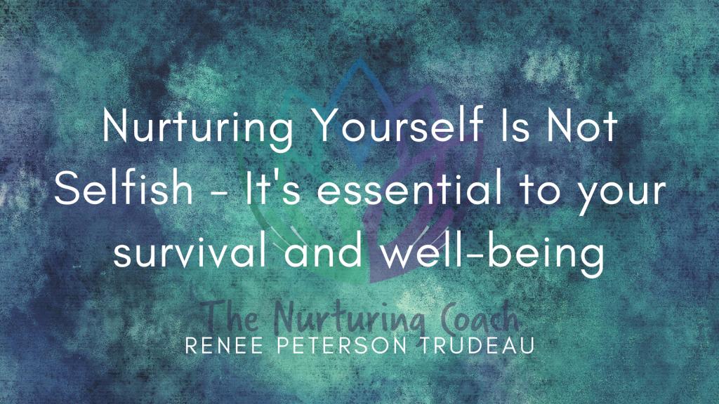nurture yourself header